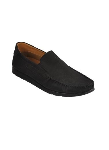 Ayakmod 414 M.Ayk Siyah Süet  Erkek Günlük Ayakkabı Siyah